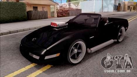 Chevrolet Corvette C4 1996 Cabrio para GTA San Andreas