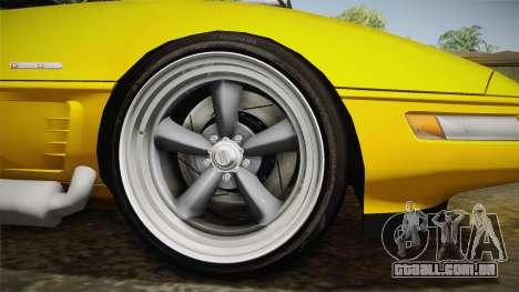 Chevrolet Corvette C4 Cabrio 1996 para GTA San Andreas vista traseira