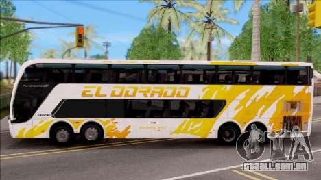 Trans El Dorado Bus para GTA San Andreas esquerda vista