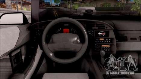 Chevrolet Corvette C4 1996 Cabrio para GTA San Andreas vista interior