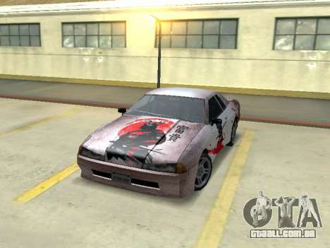 New Elegy Paintjob Samurai para GTA San Andreas