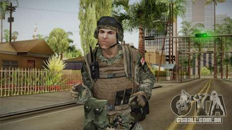 Georgian Soldier Skin v1 para GTA San Andreas