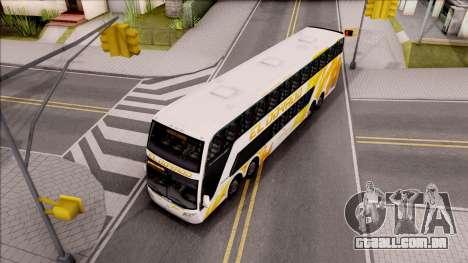Trans El Dorado Bus para GTA San Andreas vista direita