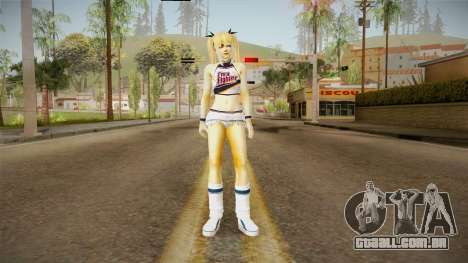 Marie Rose White Skirt para GTA San Andreas