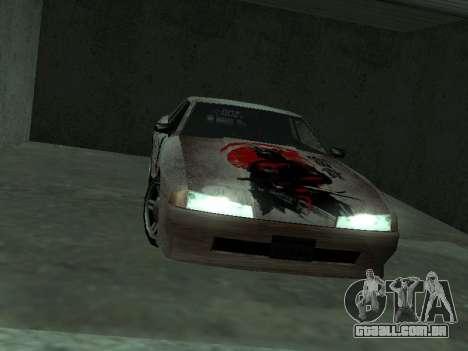 New Elegy Paintjob Samurai para GTA San Andreas vista direita