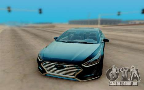 Hyundai Sonata 2018 para GTA San Andreas vista direita