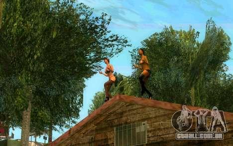 O torneio de Boxe no Grove ST para GTA San Andreas sexta tela