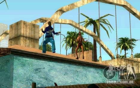 O torneio de Boxe no Grove ST para GTA San Andreas quinto tela
