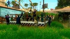 O torneio de Boxe no Grove ST para GTA San Andreas