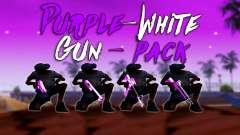 Furta-Cor-De-Rosa E Branco Pack De Armas