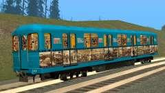 Um Histórico Do Carro Do Metrô