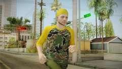GTA Online - Hipster Skin 3 para GTA San Andreas