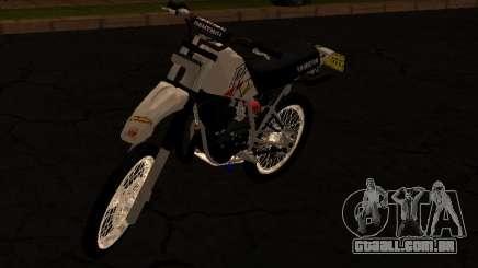 Yamaha DT 175 Stunt para GTA San Andreas