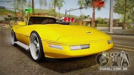 Chevrolet Corvette C4 Cabrio 1996 para GTA San Andreas