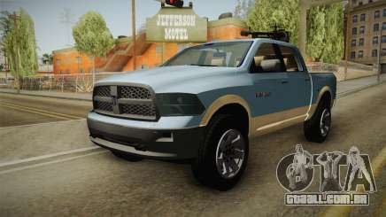 Dodge Ram Technical para GTA San Andreas
