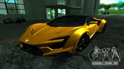 2017 W Motors Fenyr Supersports para GTA San Andreas