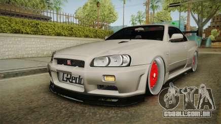 Nissan Skyline R34 GT-R 2002 para GTA San Andreas