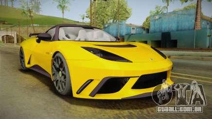 Lotus Evora GTE para GTA San Andreas