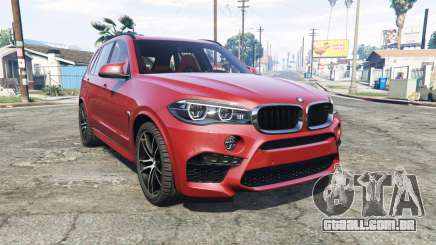 BMW X5 M (F85) 2016 [add-on] para GTA 5