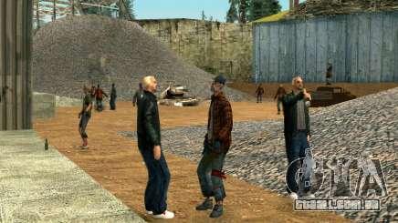 Festa sem-teto para GTA San Andreas