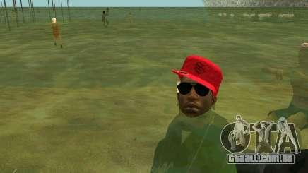 Nas praias as pessoas nadam na água para GTA San Andreas