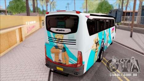 Adi Putro Royal Coach SE Boruto v1 para GTA San Andreas traseira esquerda vista