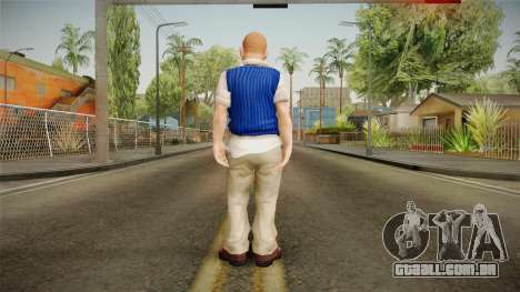 Jimmy Hopkins Skin para GTA San Andreas terceira tela