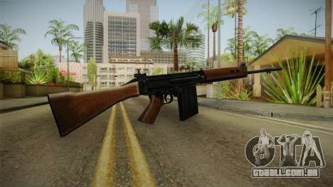 Insurgency FN-FAL Assault Rifle para GTA San Andreas segunda tela