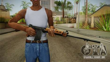 Insurgency FN-FAL Assault Rifle para GTA San Andreas terceira tela