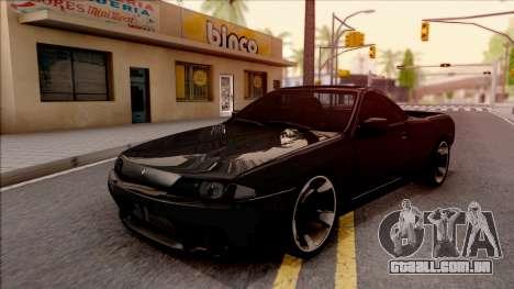 Nissan Skyline R32 Pickup v2 para GTA San Andreas
