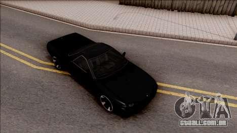 Nissan Skyline R32 Pickup v2 para GTA San Andreas vista direita