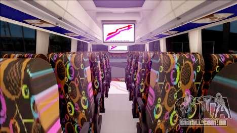 Adi Putro Royal Coach SE Boruto v1 para GTA San Andreas vista interior