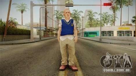 Jimmy Hopkins Skin para GTA San Andreas segunda tela