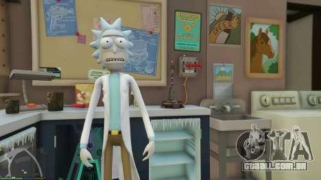 Rick Sanchez (Rick and Morty) [Add-On] 2.2 para GTA 5