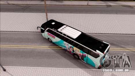 Adi Putro Royal Coach SE Boruto v1 para GTA San Andreas vista traseira
