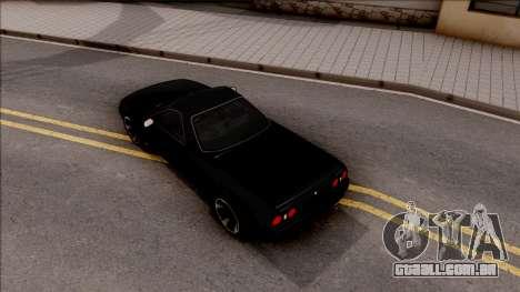 Nissan Skyline R32 Pickup v2 para GTA San Andreas vista traseira