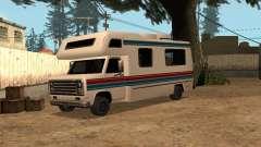 Viagem com vermelho e faixa azul para GTA San Andreas