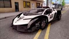 Lamborghini Veneno Police Las Venturas