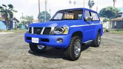 Nissan Patrol GL VTC (Y61) 2016 v1.1 [add-on]