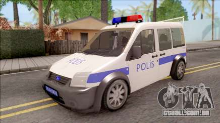 Ford Tourneo Connect K210S Turkish Police para GTA San Andreas