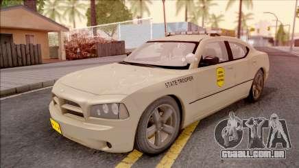 Dodge Charger Gold 2007 Iowa State Patrol para GTA San Andreas