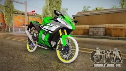 Kawasaki ZX10 R R17 para GTA San Andreas