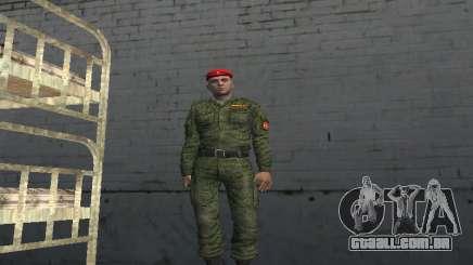 Oficial De Rifle Motorizado Tropas para GTA San Andreas