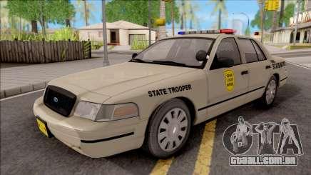 Ford Crown Victoria 2003 Iowa State Patrol para GTA San Andreas