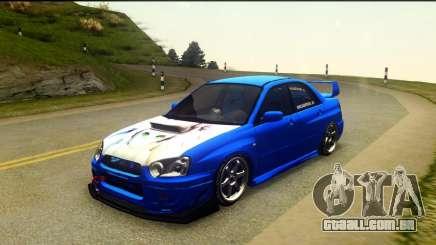 Subaru Impreza WRX STi 2004 (Virtual Diva) para GTA San Andreas