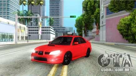 Subaru Impreza WRX Hawkeye Baby Driver v.1 para GTA San Andreas