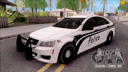 Chevrolet Caprice 2013 Ames Police Department para GTA San Andreas