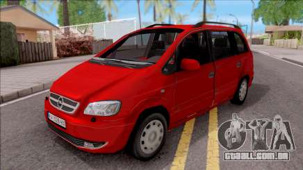 Opel Zafira 2.2DTI para GTA San Andreas