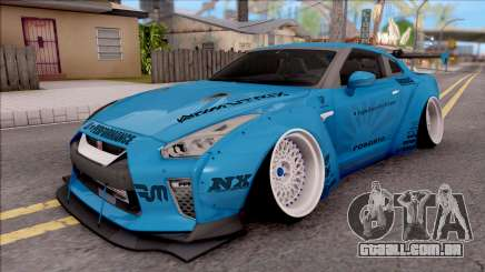 Nissan GT-R R35 2017 Premium LB Performance para GTA San Andreas