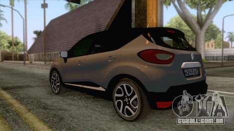 Renault Captur para GTA San Andreas vista direita